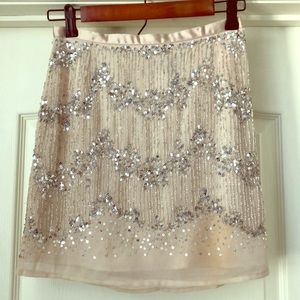 Women's H&M sequined skirt size 4